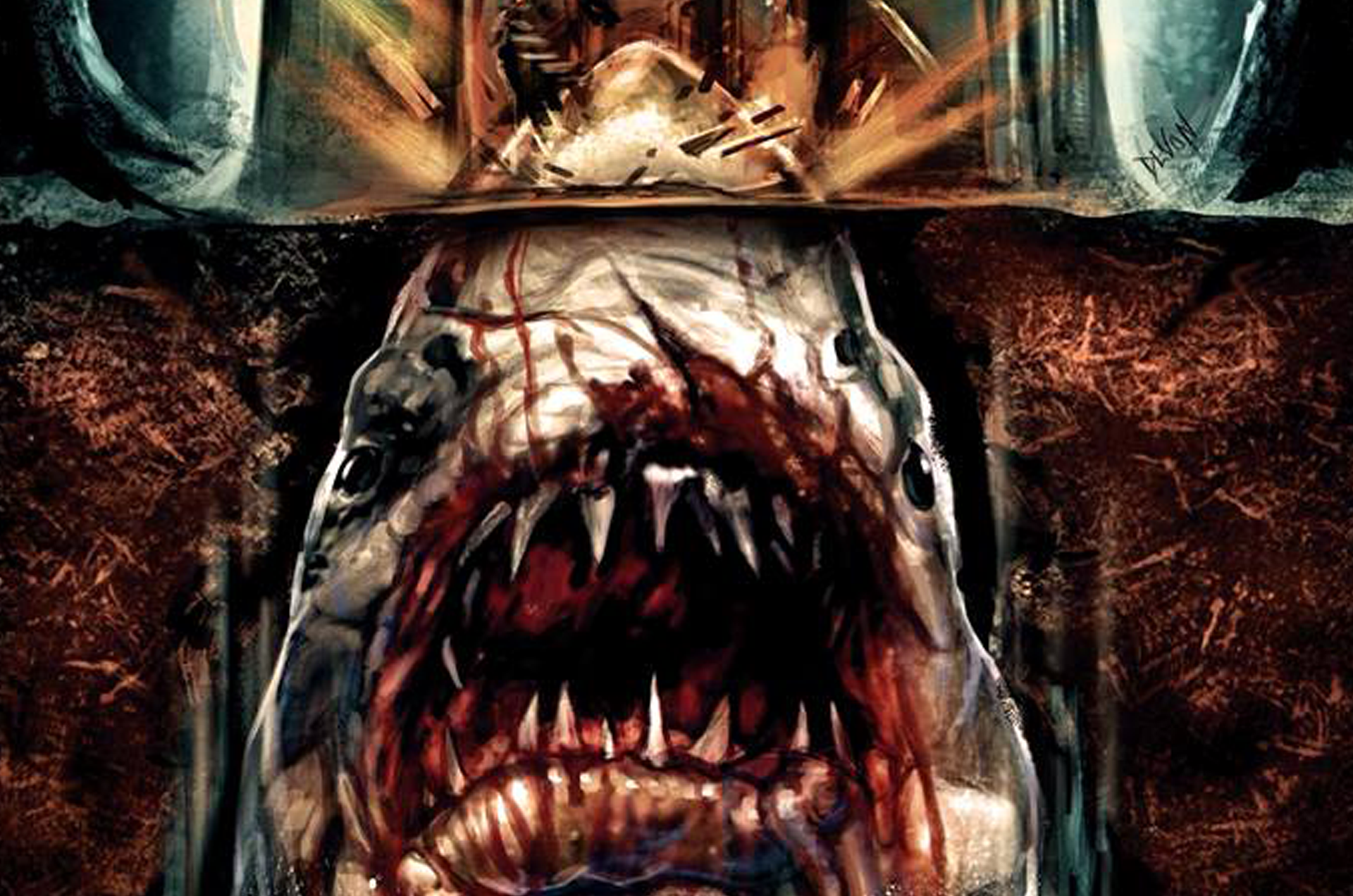 JAWS… in a house